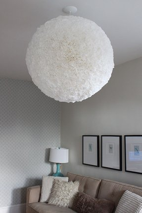 Paper pendant lamp foter paper pendant lamp shade mozeypictures Images