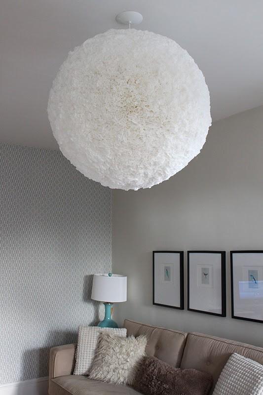 Paper Pendant Lamp Shade