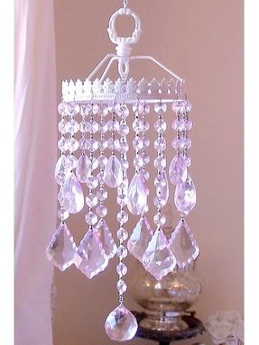 Pink Crystal Lamp 24