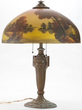 Reverse Painted Lamp Shade Foter