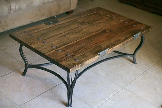 Gentil Rustic Door Coffee Table