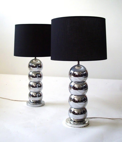 Stacked Ball Lamp 6