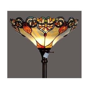 Stained glass floor lamp 11