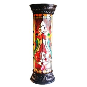 Stained glass floor lamp foter stained glass floor lamps sale aloadofball Gallery