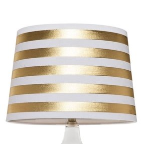 Striped lamp shades foter striped lamp shades 1 aloadofball Gallery