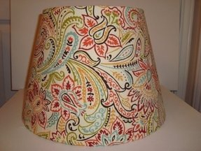 Paisley lamp shade foter unique lamp shade designs aloadofball Choice Image