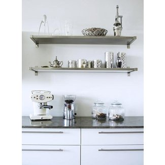 Floating Stainless Steel Shelf - Ideas on Foter