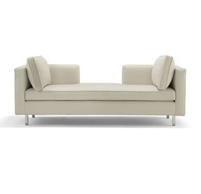 Wingback chaise