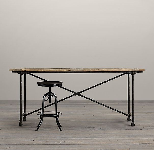 Beau 19 Long Narrow Kitchen Bar Tables 1