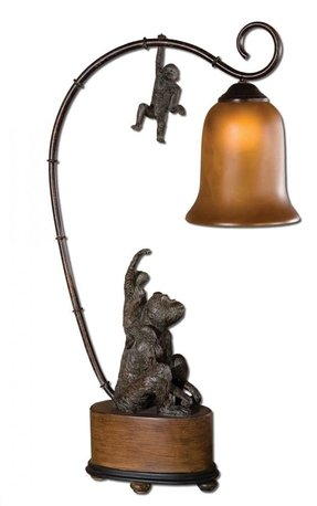 African table lamp 1
