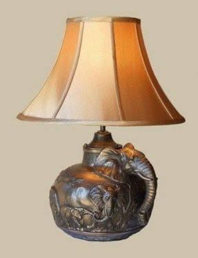 African table lamp 23