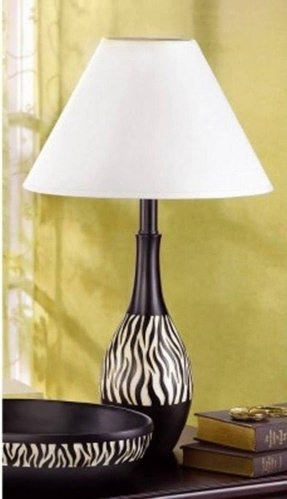 African table lamp