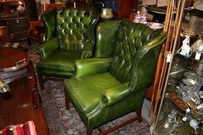 Astounding Green Wingback Chair Ideas On Foter Camellatalisay Diy Chair Ideas Camellatalisaycom