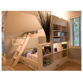 Bunk bed with drawer stairs