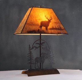 Moose lamp shade foter canadian tire floor lamps aloadofball Images