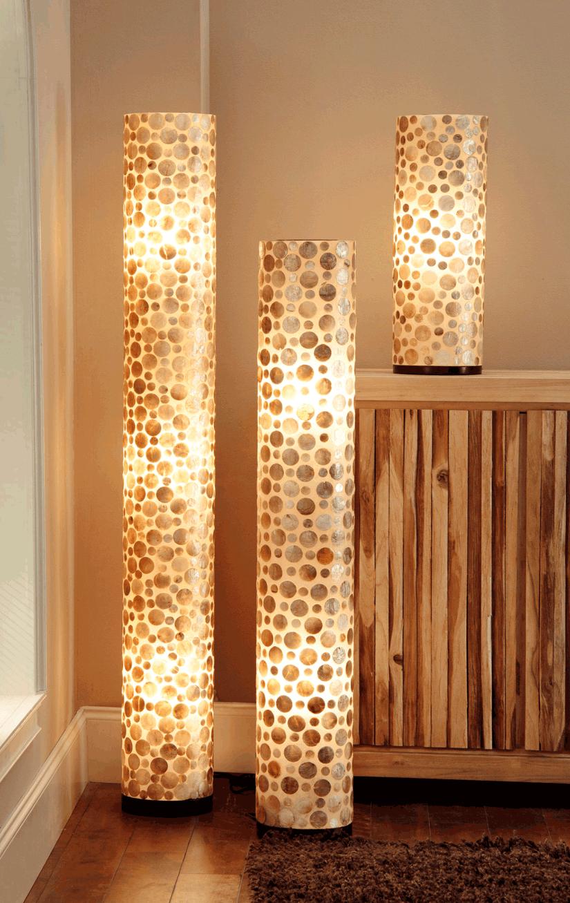 Capiz Shell Floor Lamp   Ideas On Foter