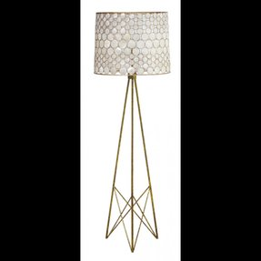 Capiz shell floor lamp 6