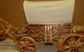 Covered wagon lamp 37