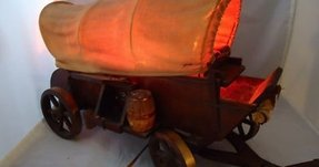 Covered wagon lamp 4