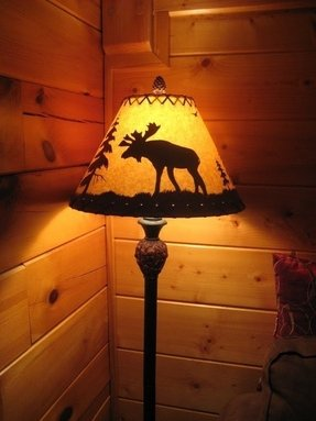 Deer lamp shades