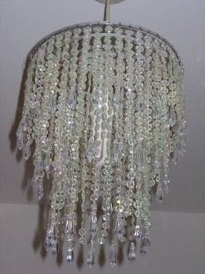 Beaded chandelier lamp shades foter diy chandelier lamp shade aloadofball Choice Image