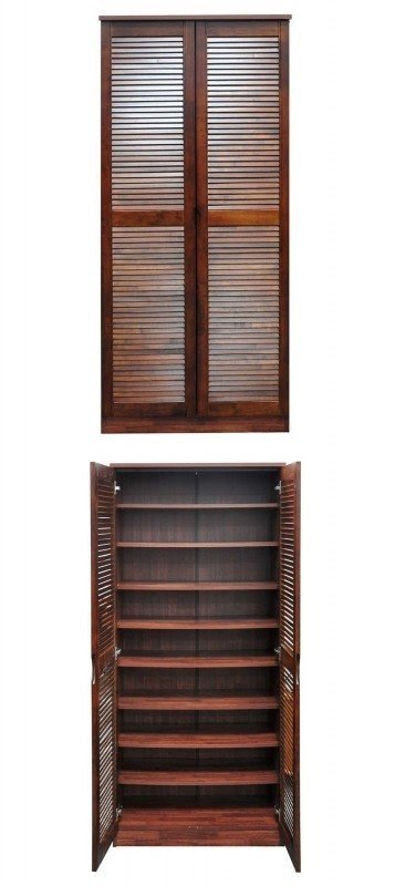 Door Louvre Shoe Rack Cabinet With Delivery At 89 Worth