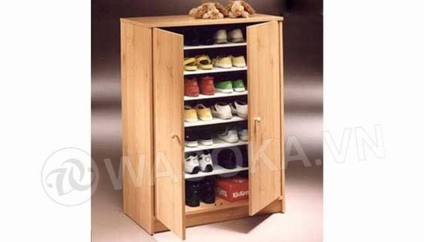 Superieur Furniture123 Cherry Shoe Cabinet 12410 Jpg