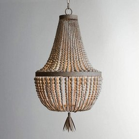 Beaded chandelier lamp shades foter how to make a chandelier out of a lamp shade aloadofball Choice Image