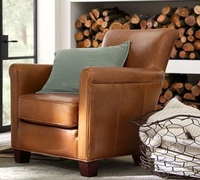 Irving professor leather armchair 9