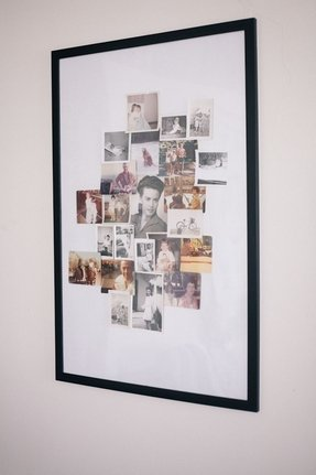 Large photo collage frame
