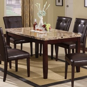Marble Top Dining Room Table - Foter