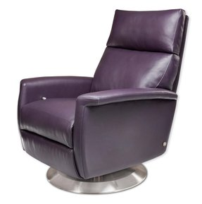 Modern leather recliner chair 13