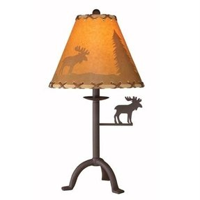 Moose lamp shade 2