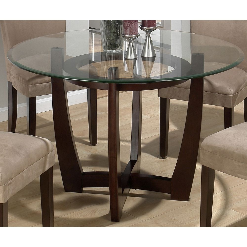 Pier 1 Glass Dining Table