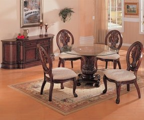 Round Glass Top Dining Room Table Ideas On Foter