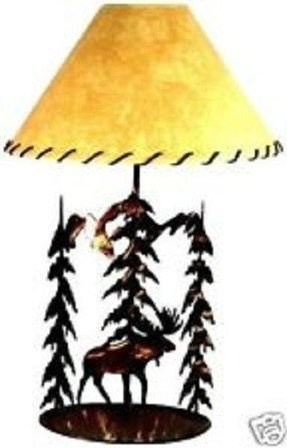 Save 135 buy a rolled pole lamp moose with shade