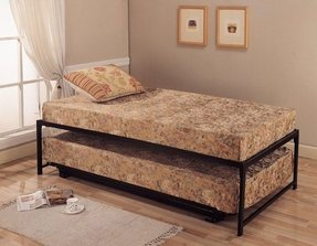 Twin platform bed with trundle 2