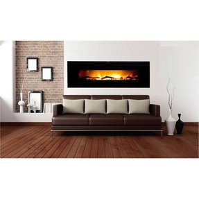 Wall electric fireplace heater 34
