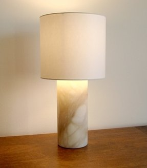 Alabaster table lamp 70