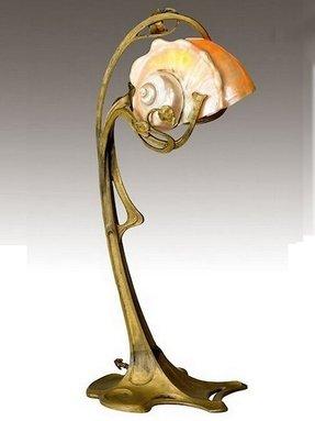 Art deco lady lamp foter art deco table lamps for sale aloadofball Images