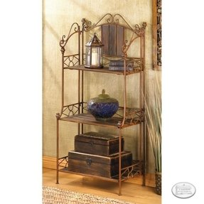 Bakers rack shelving 129 95