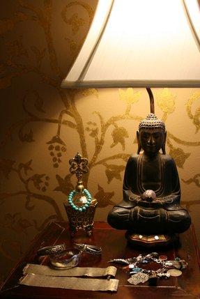 Buddha Lamp Foter