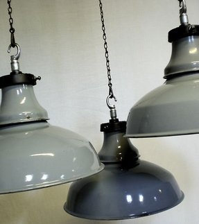 Chain hanging lights