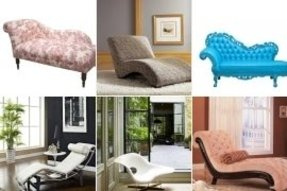 Chaise lounge indoor furniture