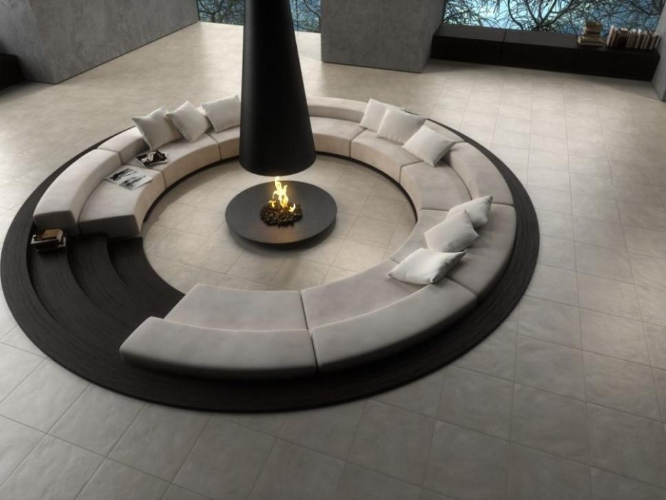 Circular Sectional Couch 5