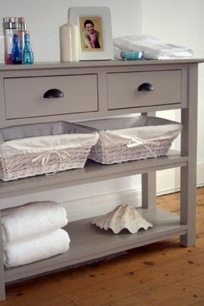 Console Table With Drawers 1