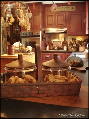 Country kitchen canisters 12