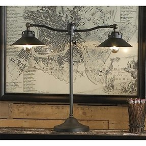 Double desk lamp 7