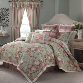 spring charleston queenppy inch ac quilts chirp reversible com paisley amazon dp waverly quilt full by queen collection verveine