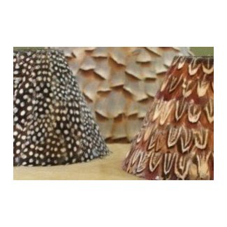 Feather lamp shades 5
